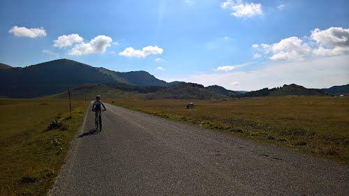 Fonte Vetica - Campo Imperatore - Parco nazionale del Gran Sasso e Monti della Laga(AQ) #rtb #bicicletta #bicycle #ciclismo #cycling