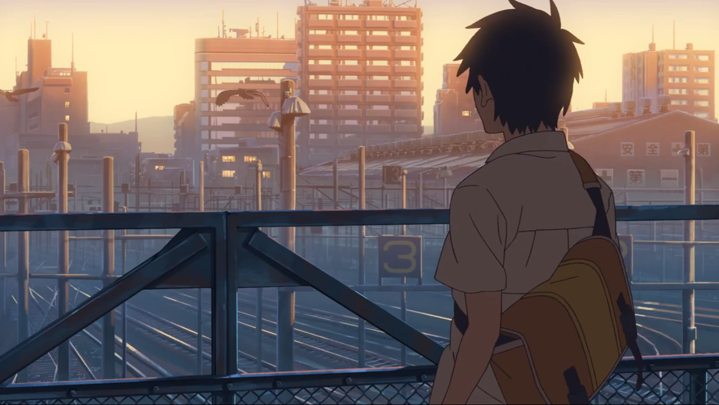 Crossroads Zkai CM by Makoto Shinkai アニメの風景, 新海, アニメーション