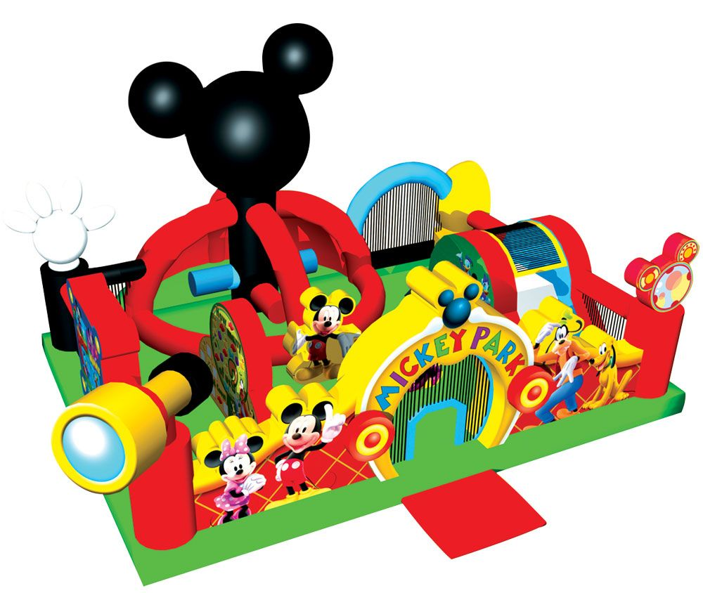 Mickey park learning club mickey mouse playhouse