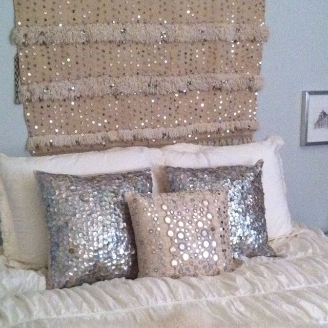 Handira over bed (close-up) by Wimberly Fair Interiors