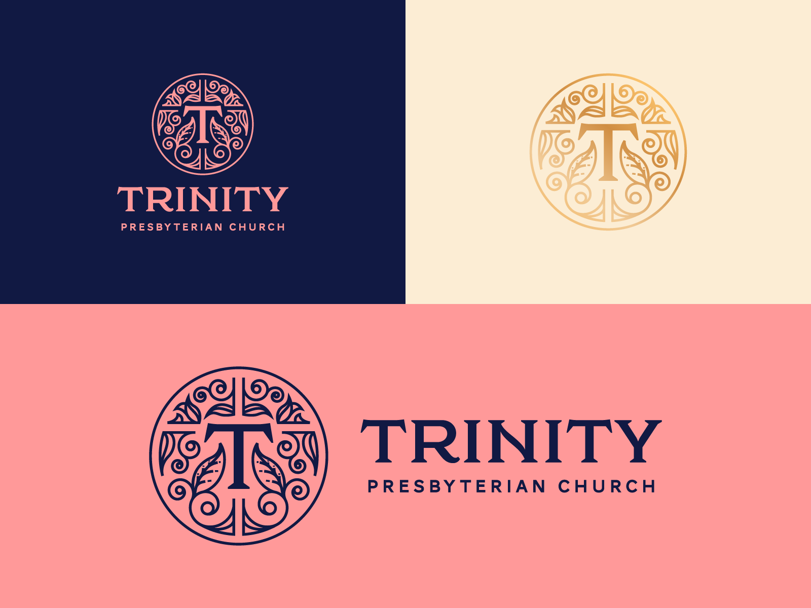 Trinity Presbyterian Church San Diego Church Logo Church Logo Design Church Logo Inspiration