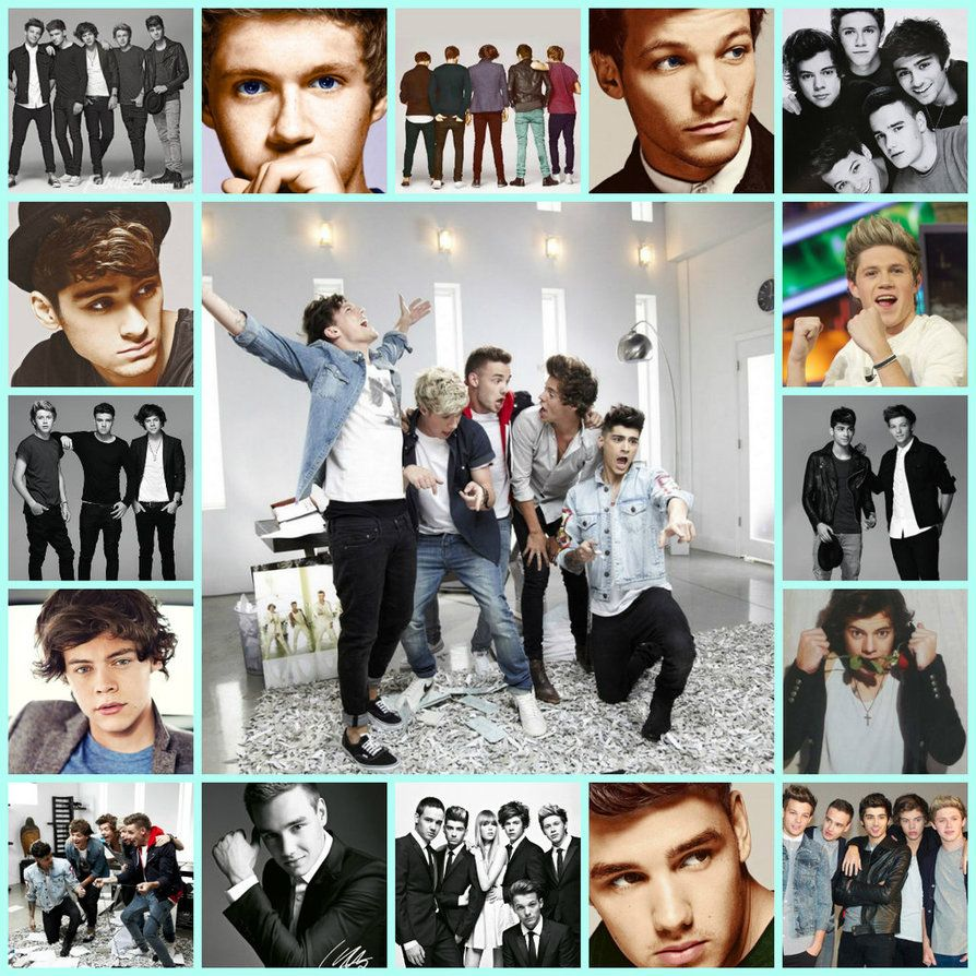 Best Song Ever Collage One Direction Collage One Direction One Direction Collage Wallpaper