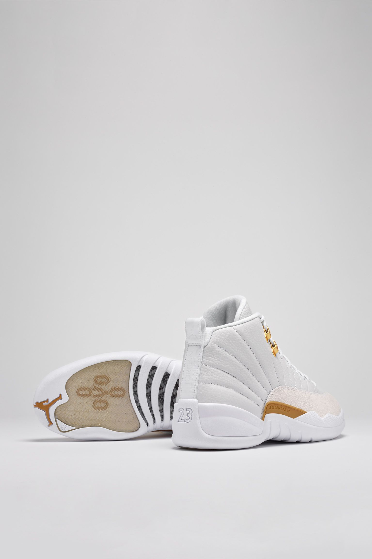 lowest price ab164 93e23 ... Nike has announced that the white colorway of the Air Jordan 12 OVO  will release through ...