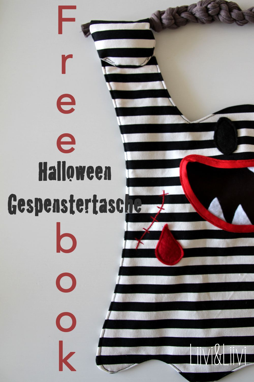 Freebie für eine tolle Geister-Halloween-Süßigkeiten-Sammeltüte ...
