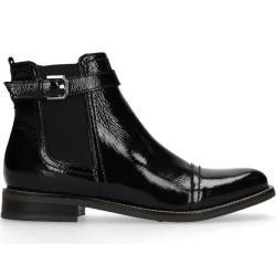 Photo of Black patent leather ankle boots (36,37,38,39,40,41,42) Manfield