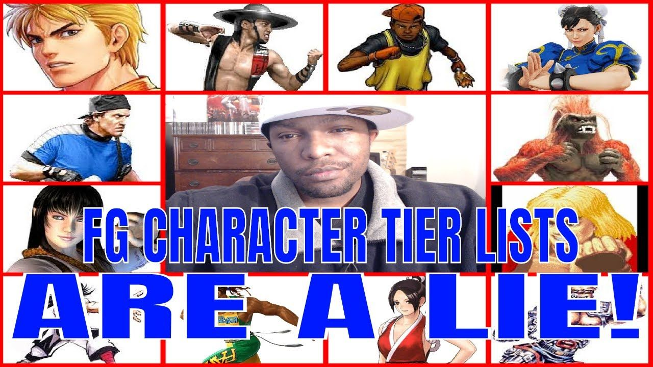 Fighting Game Character Tier Lists are a LIE! (Fighting Games Advice