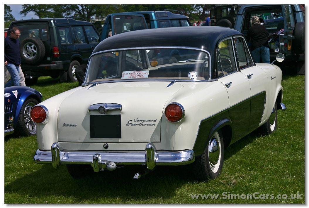 Standard Vanguard Vignale | Old cars & trucks | Pinterest | British ...