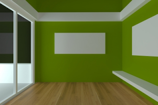 What The Colour Of Your Home Says About You Empty Rooms Interior Room Interior Design Empty Room