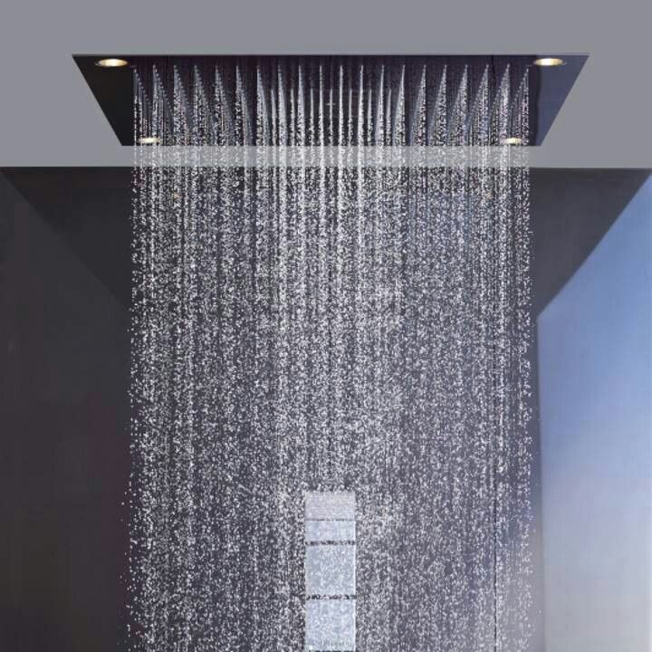 I Need A Whole Roof Of These Ceiling Shower Head Shower Heads Dream Shower