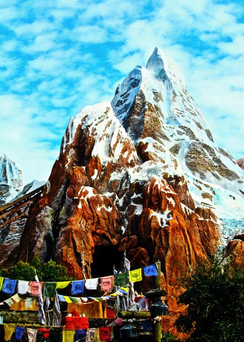 BEST RIDE AT DISNEY! Expedition Everest - Animal Kingdom