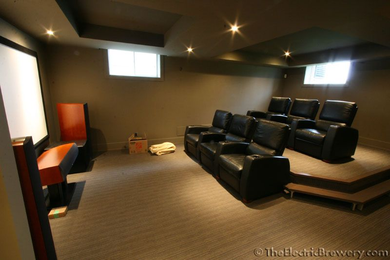 Captivating Basement Home Theater | Tags: Basement Home Theater Ideas, Basement Home  Theater Cost,