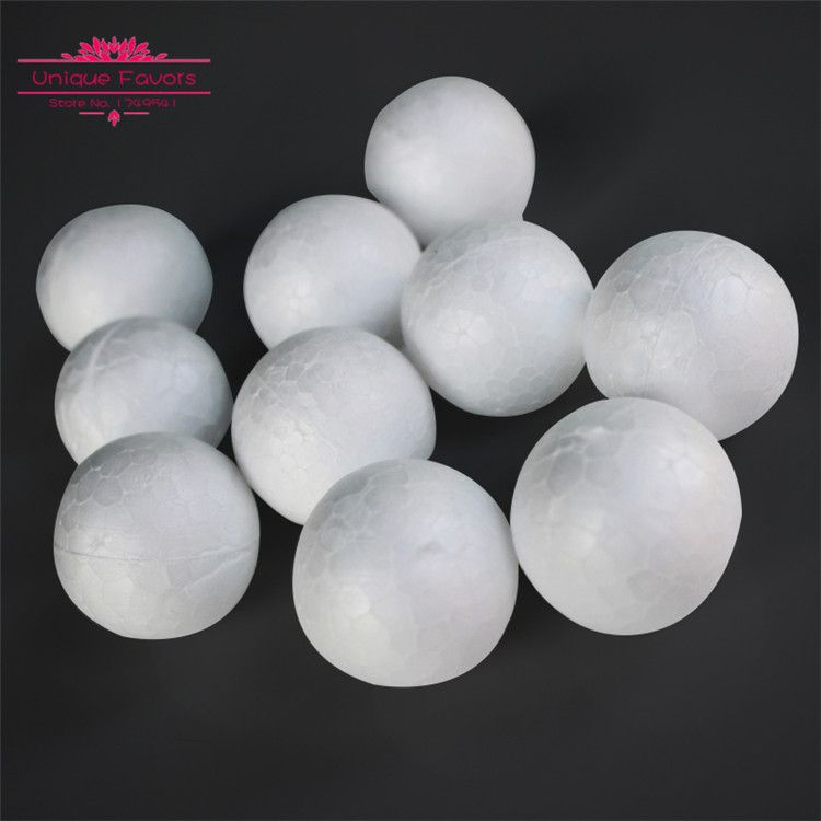 Craft Foam Ball 5-12 Balls Smooth Styrofoam Polystyrene Balls for Craft and Project