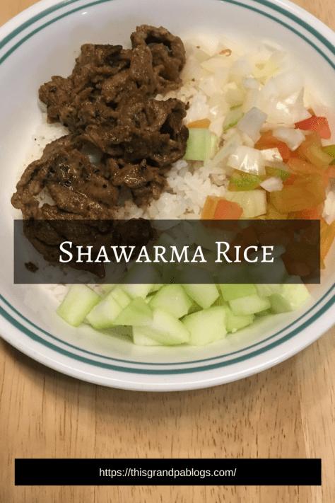 Shawarma Rice   Recipe   Shawarma, Shawarma garlic sauce ...