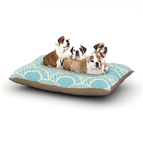 "Kess InHouse Suzie Tremel ""Heathered Scales"" Fleece Dog Bed, 30 by 40-Inch, Blue/Tan Kess InHouse http://www.amazon.com/dp/B00LFASSOY/ref=cm_sw_r_pi_dp_bughub0C8FD9D"