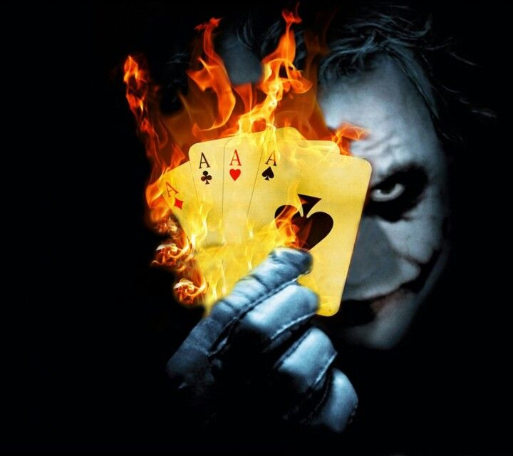 This Hand Is On Fire Joker Hd Wallpaper Batman Joker Wallpaper