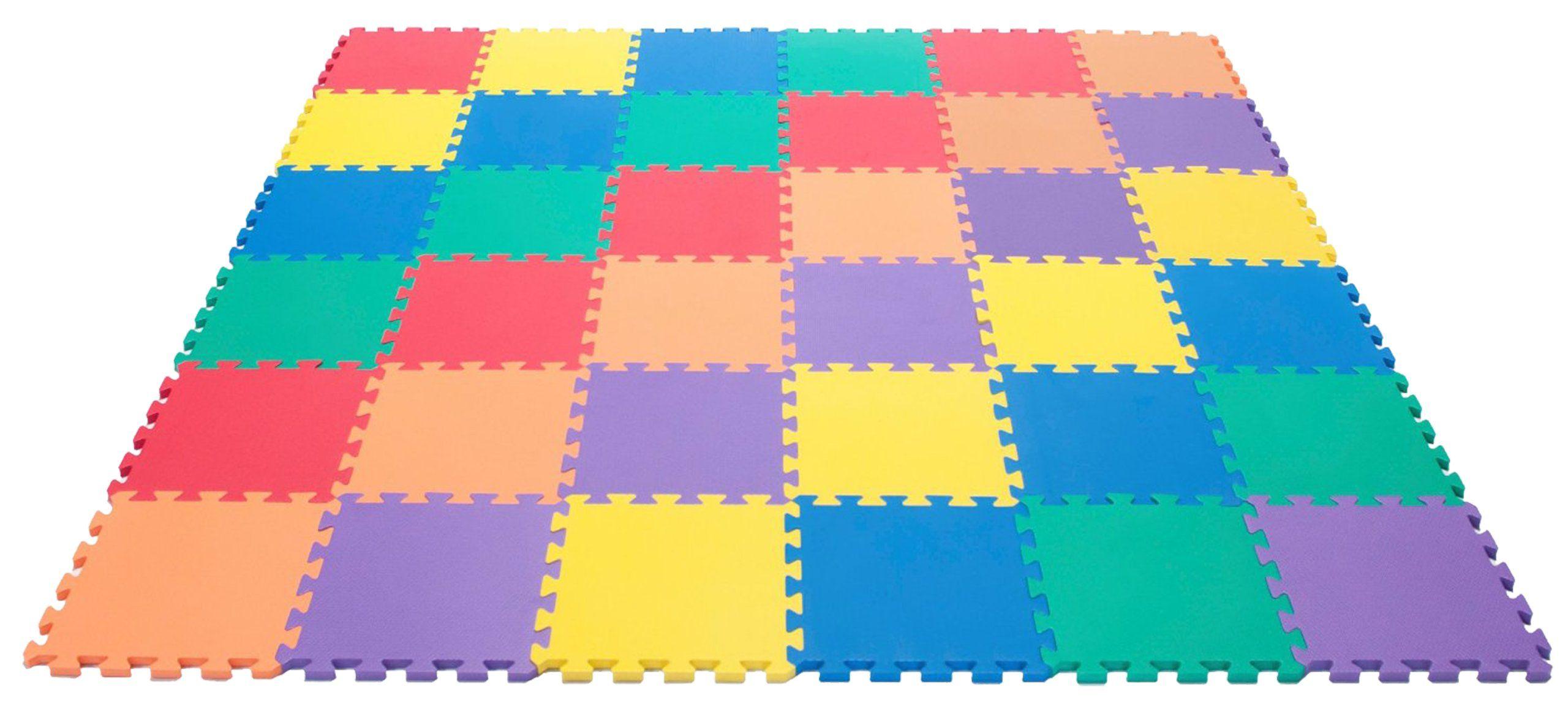 Non Toxic Rainbow 6 Colors Foam