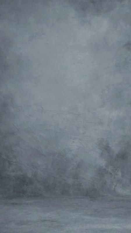 Fantastic Stale Grey Textured Hand Painted Canvas Backdrop