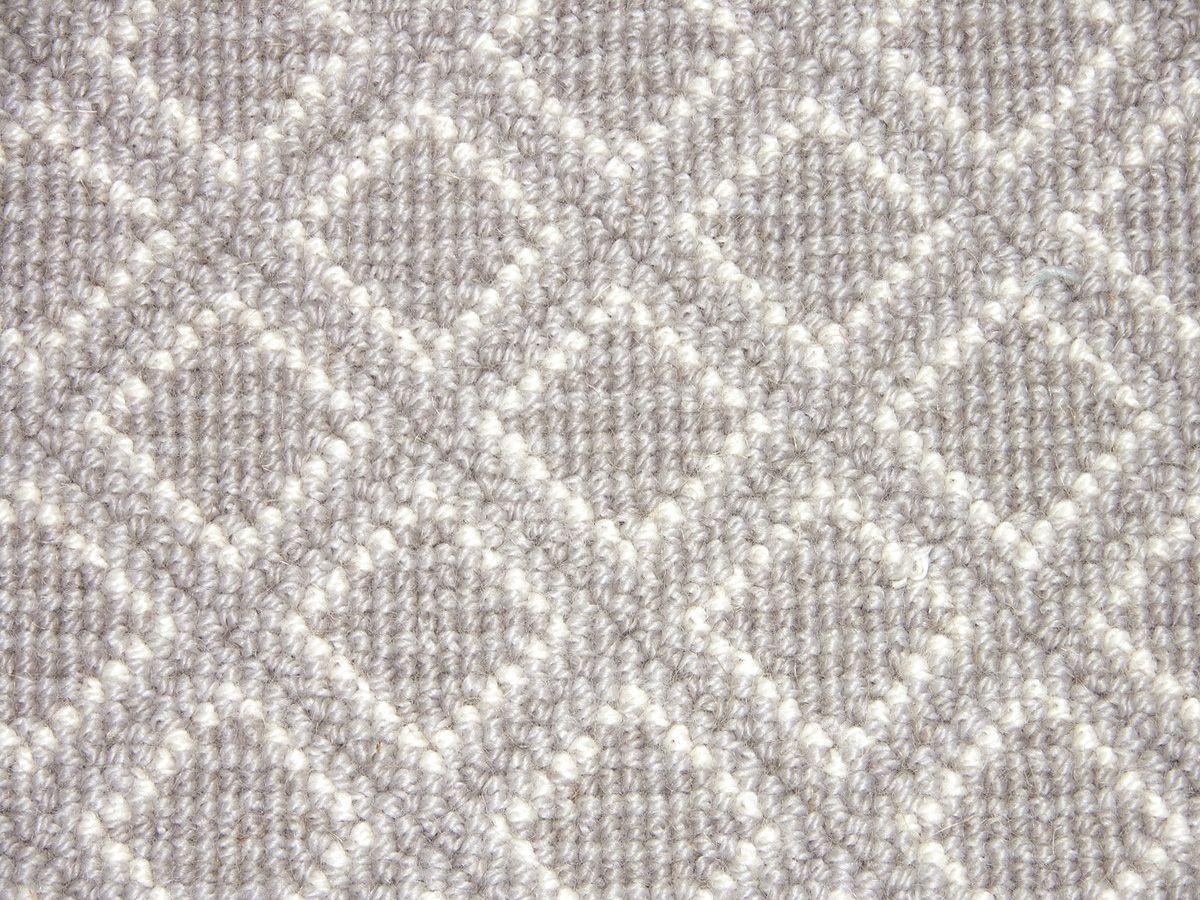 Best Stark Geometric Carpet Diamond Stria Textured Carpet 400 x 300