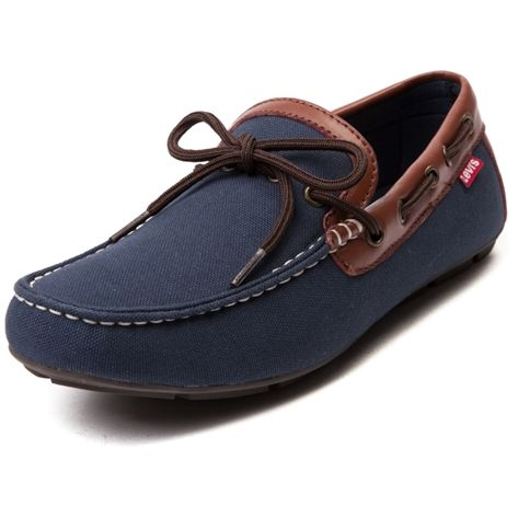 Shop for Mens Levis Benson Casual Shoe, Navy, at Journeys Shoes. Set sail