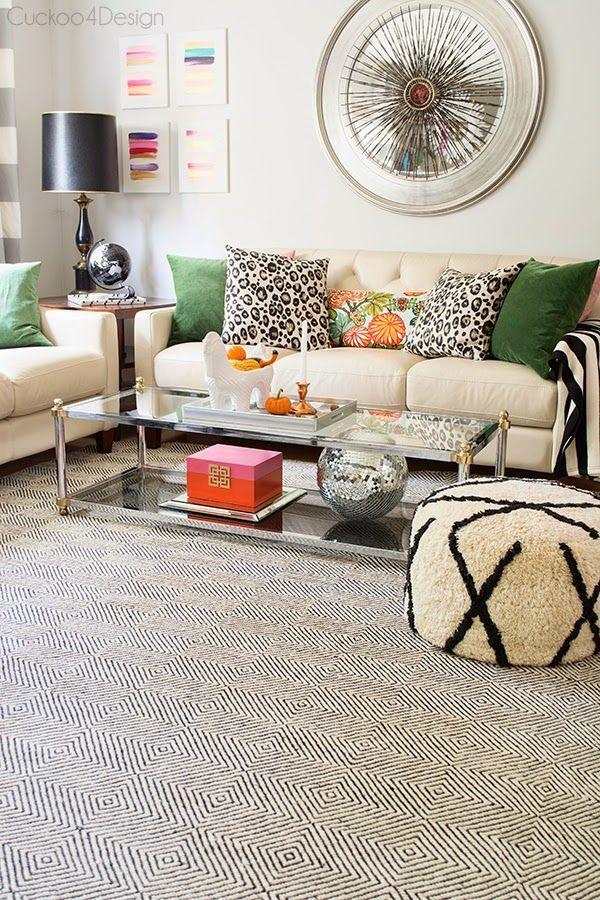 A new gorgeous rug for our living room! (via Bloglovin.com )