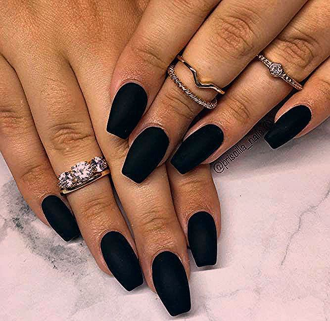Photo of 35 Outstanding Short Coffin Nails Design Ideas For All Tastes