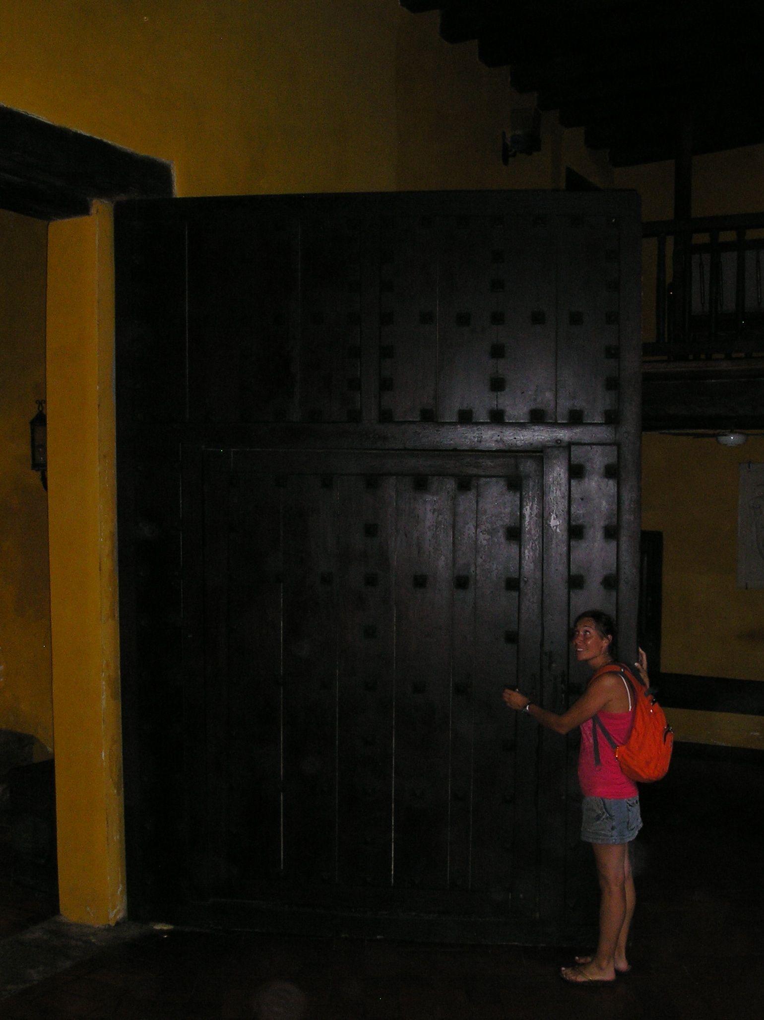 Una puerta hacia lo desconocido...