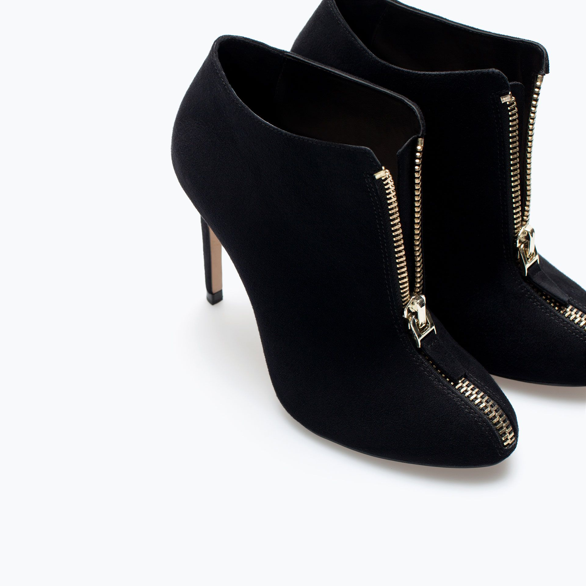 Image 6 of HIGH HEEL ANKLE BOOT WITH ZIP from Zara