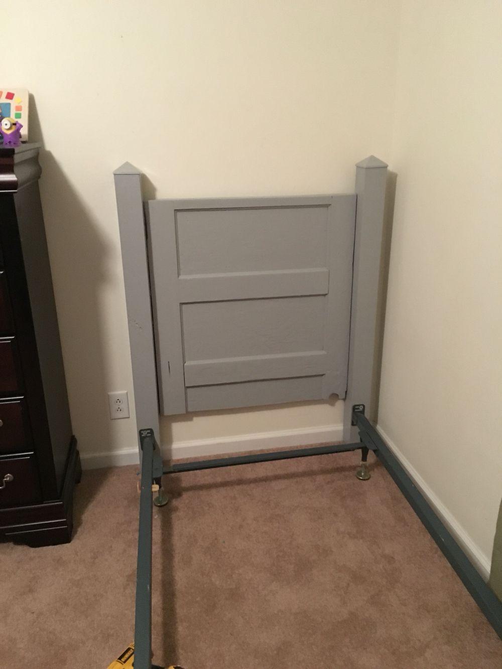 Five Panel Door Headboard Shiplap Twin Bed Headboard For The Home Pinterest Bed