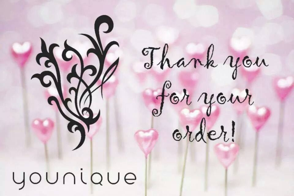 Younique Thank You Https Www Youniqueproducts Com