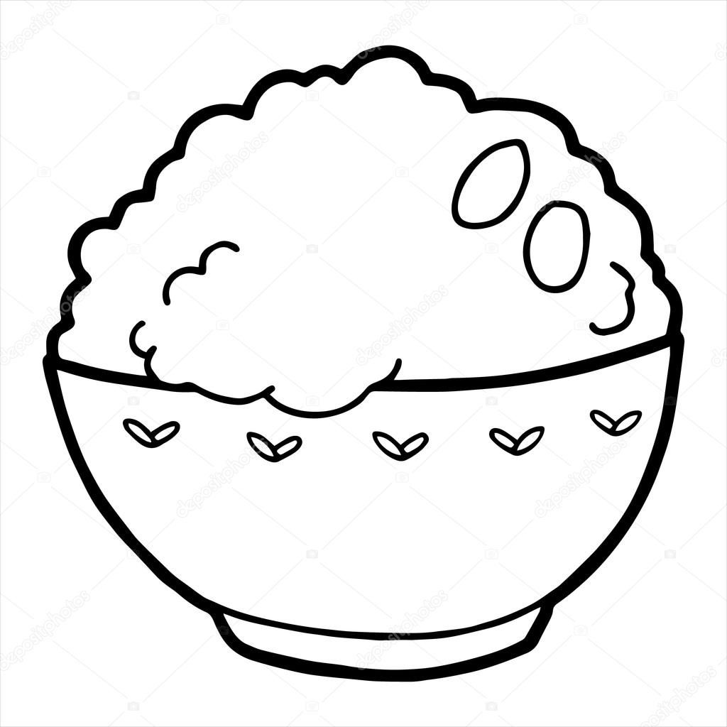 Rice And Beans Coloring Pages Coloring Pages Color Beans