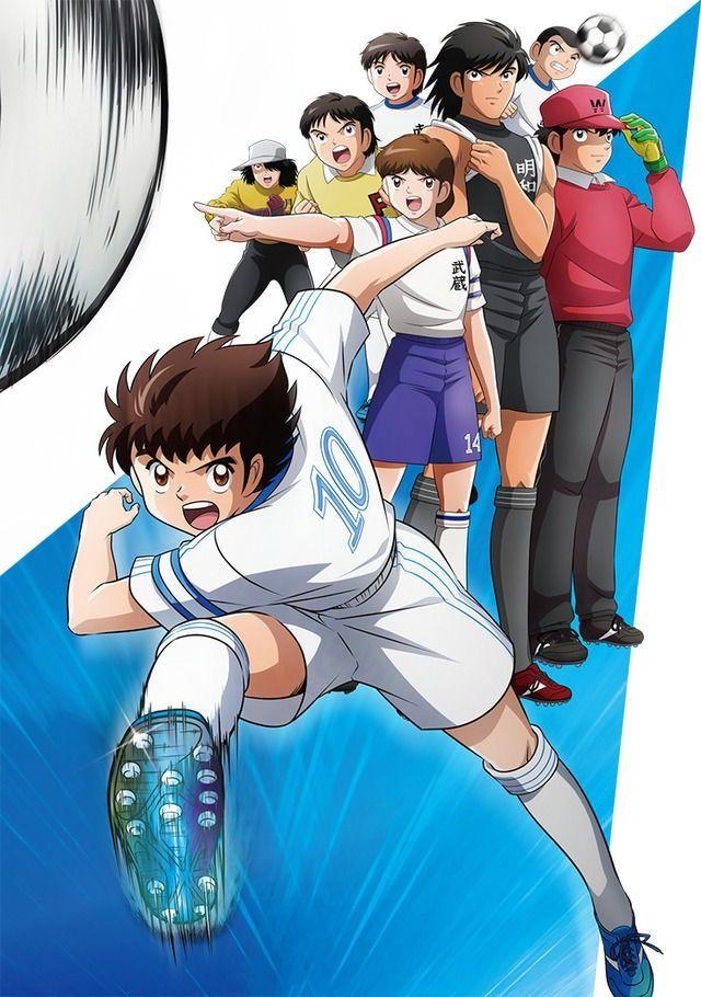 Capten Subasha Kaptan, Anime ve Anime karakterler