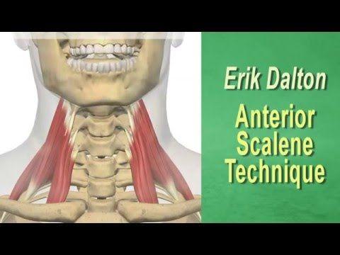 Deep tissue myofascial release for Anterior Scalenes - YouTube