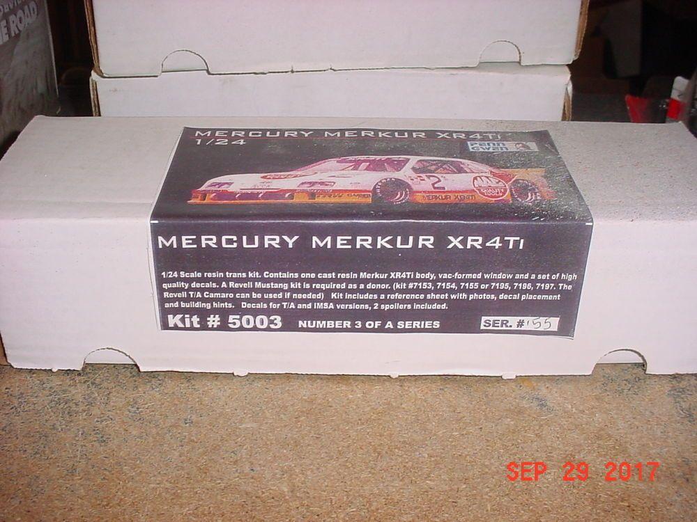 Mercury Merkur Xr4ti Imsa Racer Body 1 24th Penn Gwen 5003