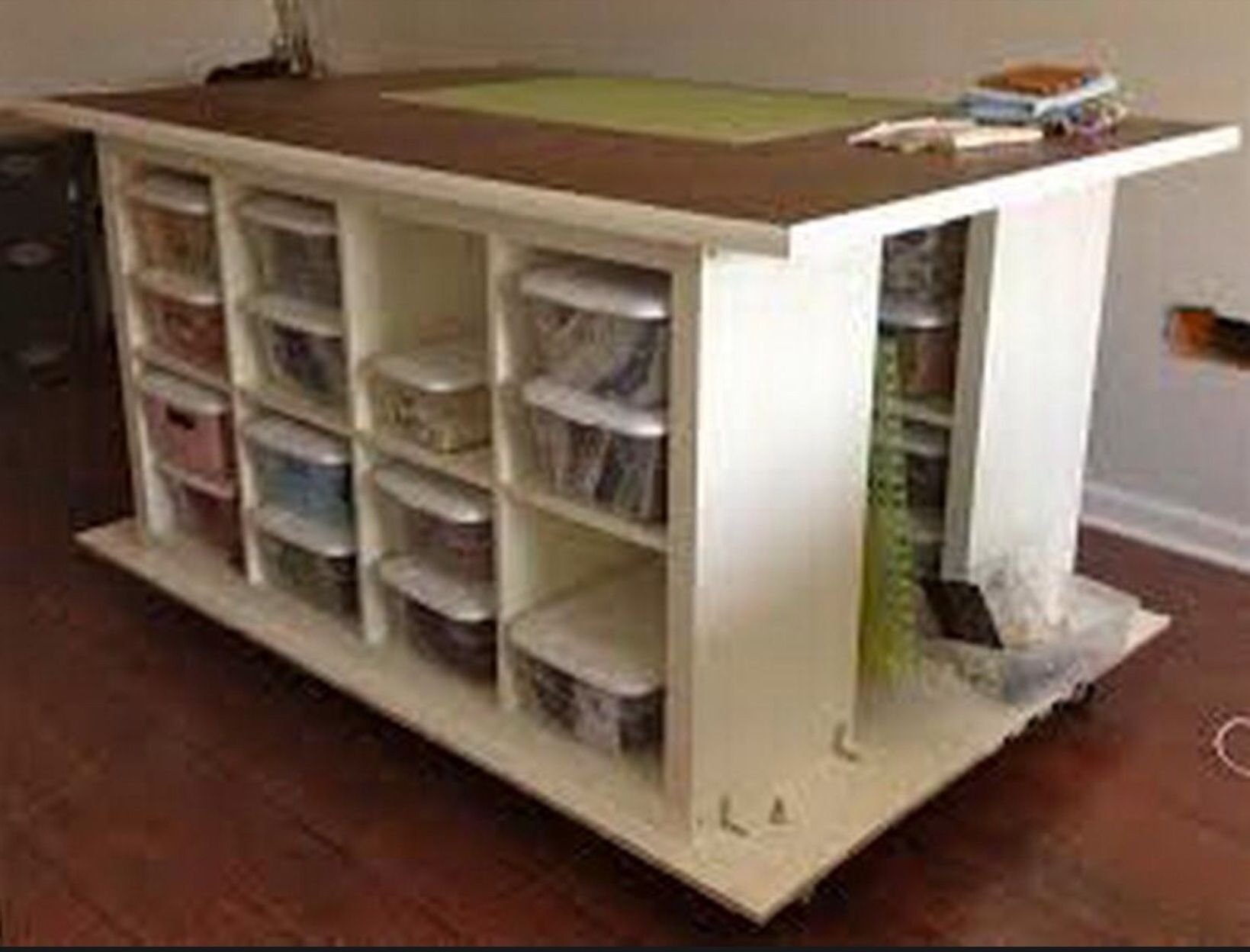 Craft Table On Wheels Craft Tables With Storage Diy Craft Room