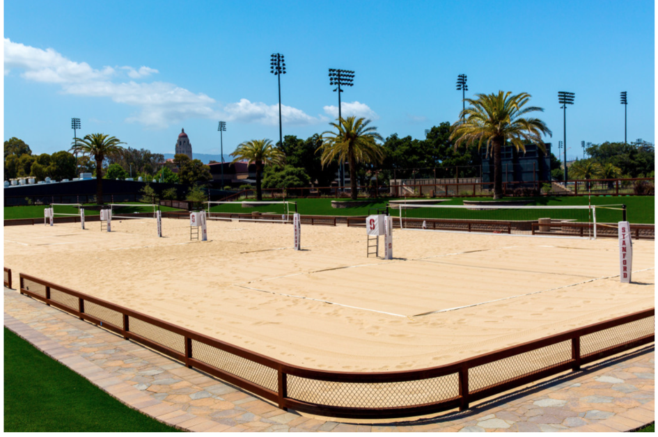 Stanford Beach Volleyball Equipment By Sports Imports