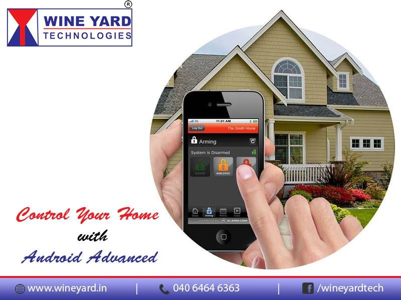 Control Your Home with # Android Advanced Mini
