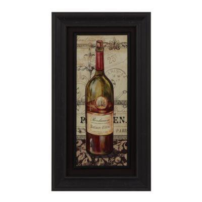 French Red Wine Framed Art Print Kirkland S Wine Frame Wine Wall Art Framed Art Prints