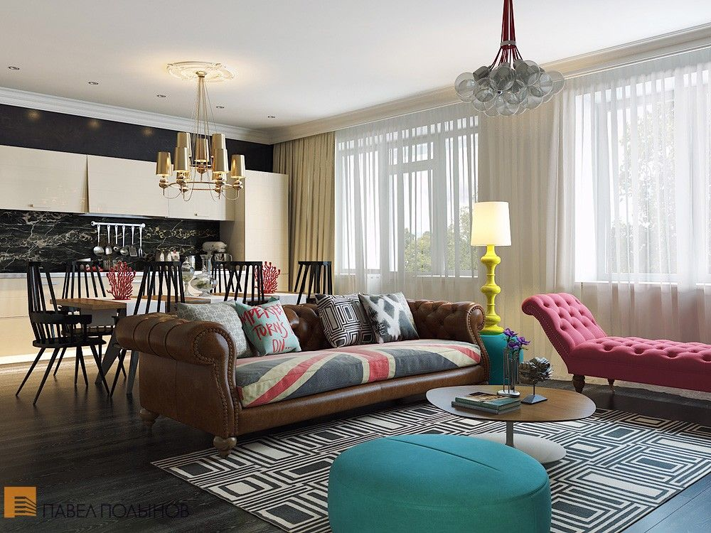Bright And Cheerful Interior Design By Pavel Polinov Studio