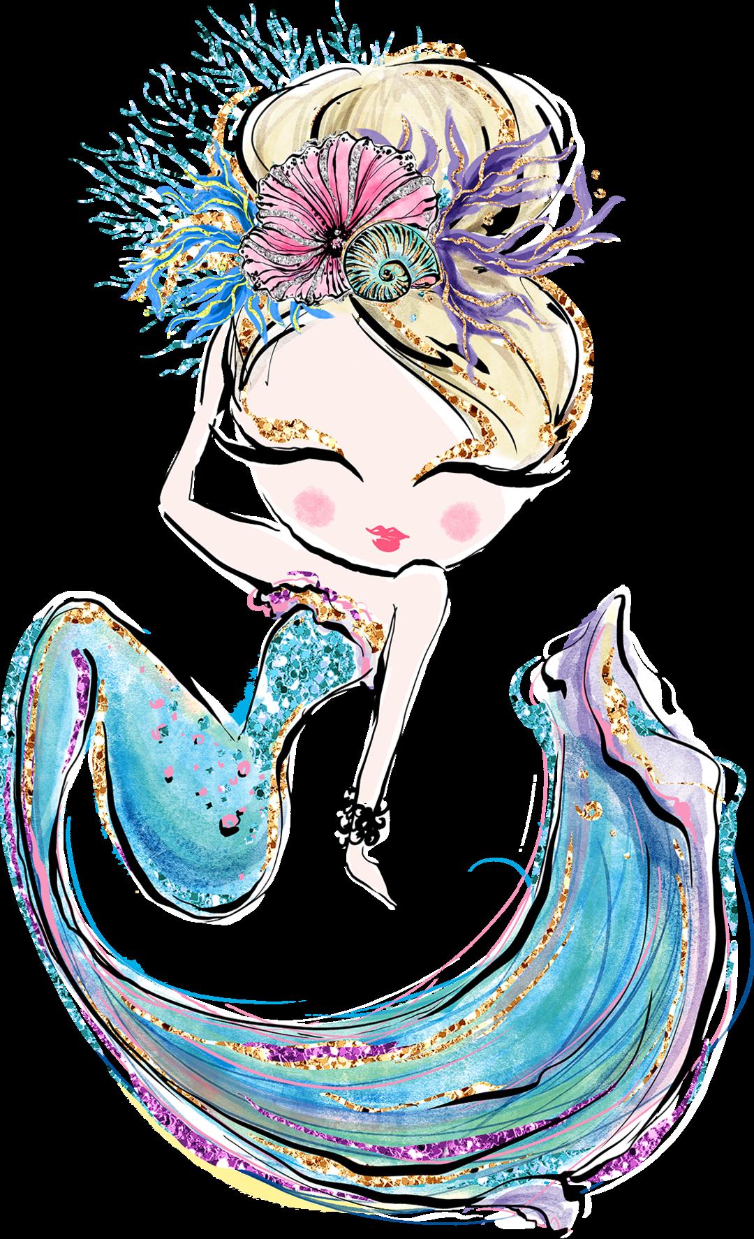 Adeline Mermaid Rogue Wanderer Co Mermaid Artwork Mermaid Drawings Mermaid Wallpapers