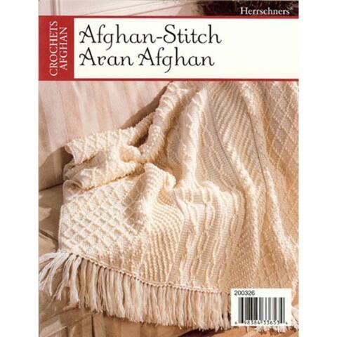 Afghan Stitch Aran Afghan Pattern CAD 4.04   Dos agujas :cubrecamas ...