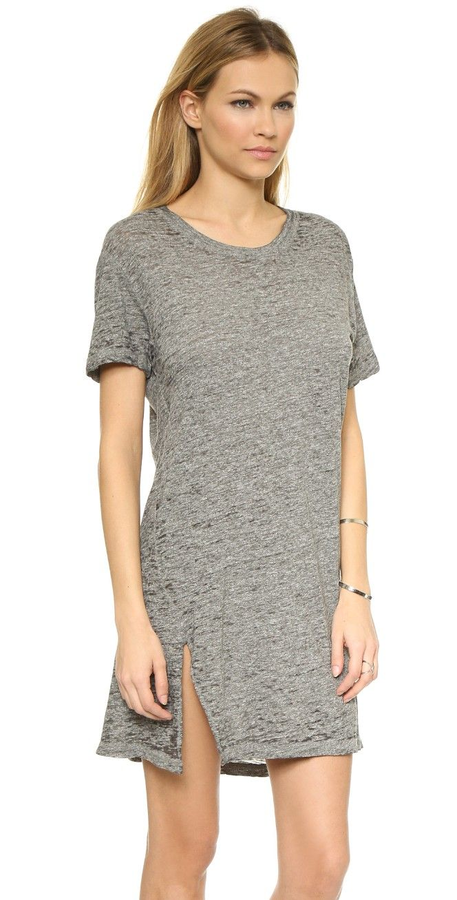 MONROW Oversized Tee Dress | SHOPBOP