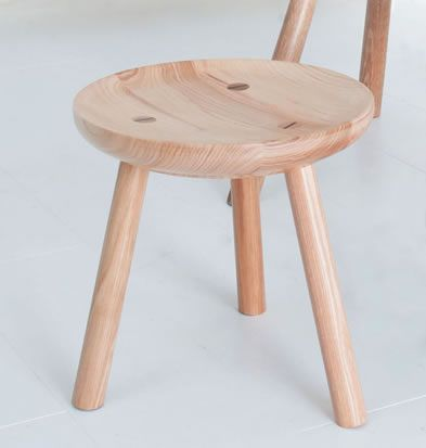 Wondrous Blodwen Traditional Welsh Ash Milking Stool Sedentary Pabps2019 Chair Design Images Pabps2019Com