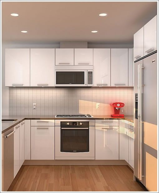 kitchen remodel ideas : lighting and flooring for small kitchens