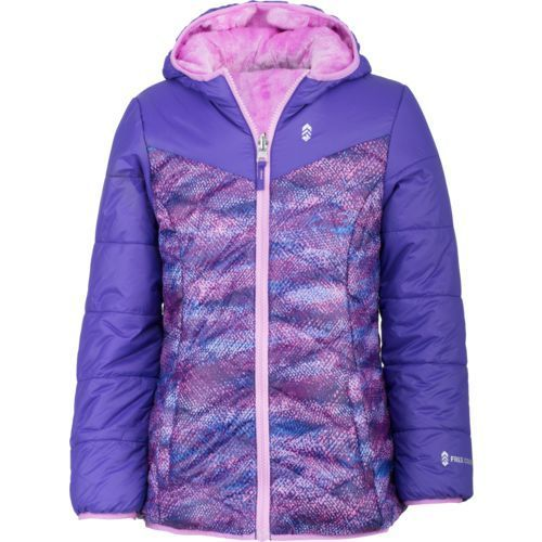 e8d1c83f Free Country Girls' Reversible Puffer Jacket (Purple, Size X Large) - Youth  Outerwear, Girl's Ski Outerwear And Fleece at Academy Sports