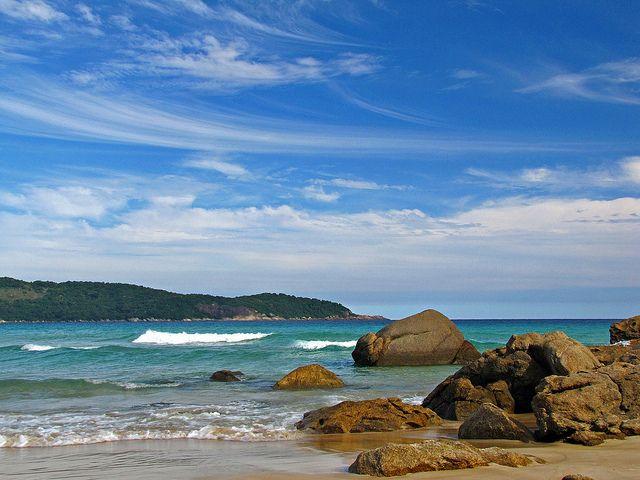 Lopes Mendes  Beach - Ilha Grande • Rio de Janeiro by leo ferreira, via Flickr