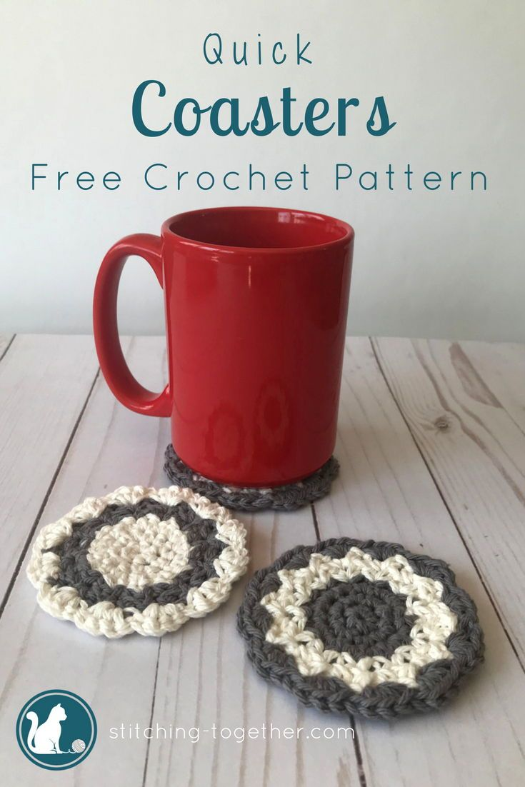 Crochet Country Coasters images