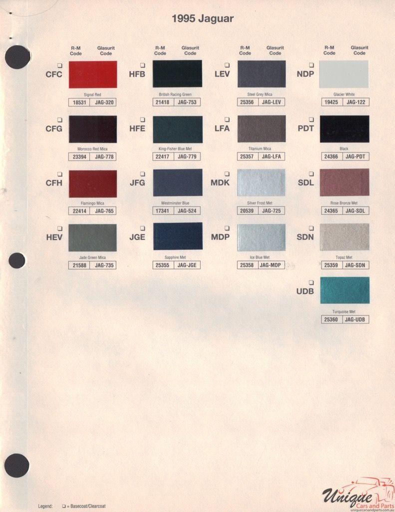 Jaguar Paint Chart Color Reference In 2020 Paint Charts Jaguar