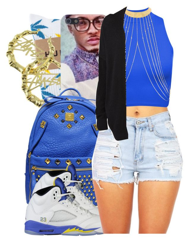 8.8.14 by clickk-mee on Polyvore featuring Witchery, HUF, MCM, NIKE and Stussy