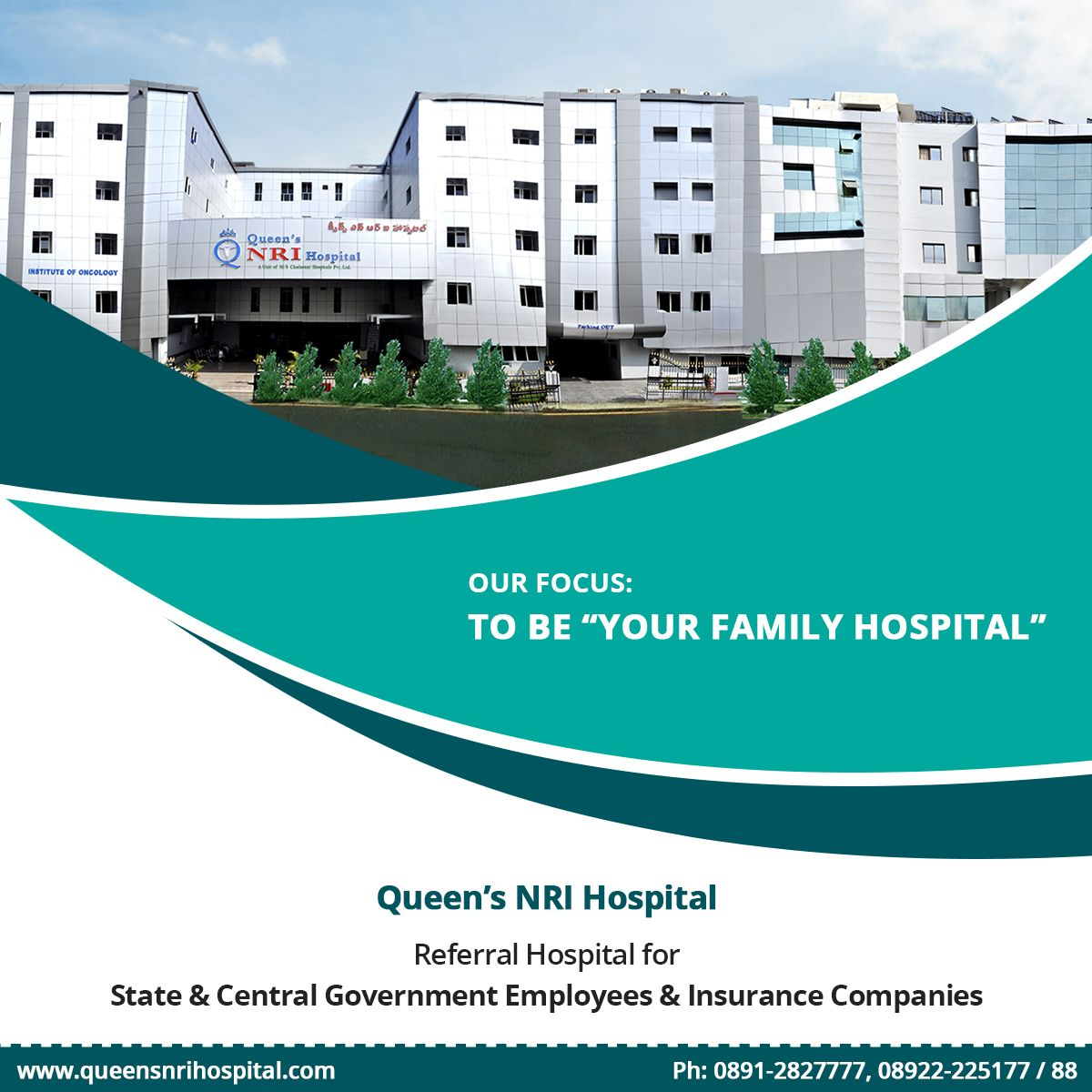 """Our Focus To Be """"Your Family Hospital"""". Referral Hospital"""
