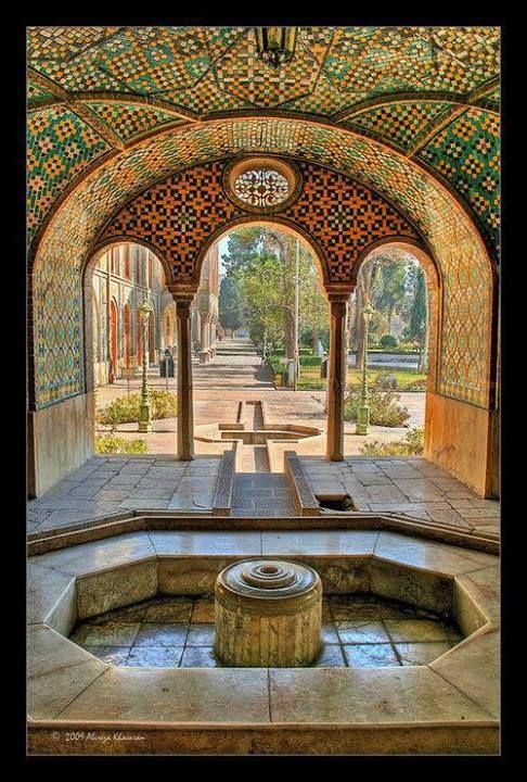 golestan palace olokosmon arche palais jardin bassin d coration nous serons tout. Black Bedroom Furniture Sets. Home Design Ideas
